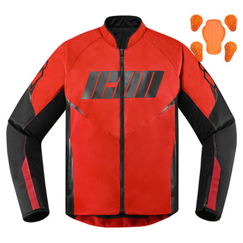 Icon Hooligan Jacket - Red