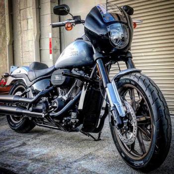 Bung King High Bar Crash Bar for 2018-2021 Harley Softail