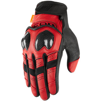Icon Contra 2 Gloves - Red