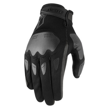Icon Hooligan Gloves - Black