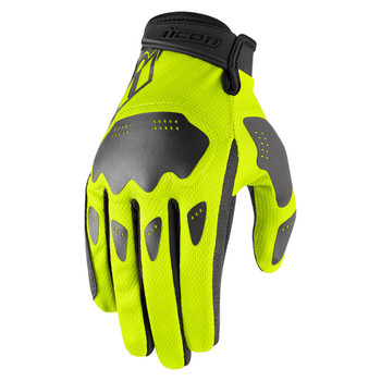 Icon Hooligan Gloves - Hi-Viz