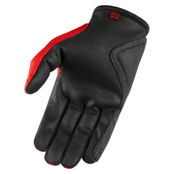 Icon Hooligan Gloves - Red