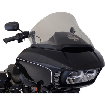 "Klock Werks 15"" Pro Touring Flare Windshield for 2015-2020 Harley Road Glide - Tint"