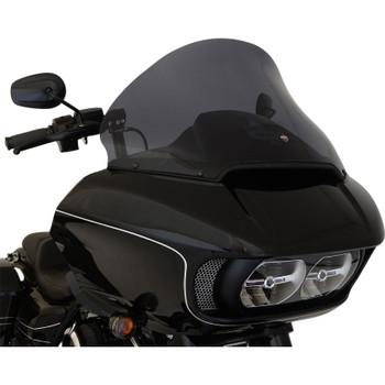 "Klock Werks 15"" Pro Touring Flare Windshield for 2015-2020 Harley Road Glide - Dark Smoke"