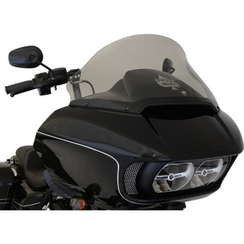 "Klock Werks 12"" Pro Touring Flare Windshield for 2015-2020 Harley Road Glide - Tint"