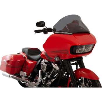 "Klock Werks 12"" Pro Touring Flare Windshield for 2015-2020 Harley Road Glide - Dark Smoke"