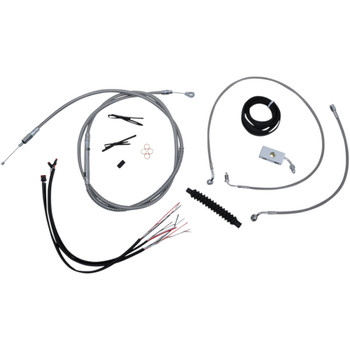 LA Choppers Cable Kit w/ Wiring for 2018-2021 Harley Softail w/ ABS