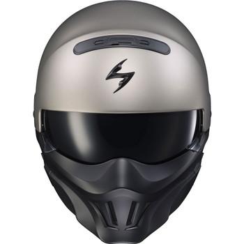Scorpion Covert Evo Convertible Helmet - Titanium