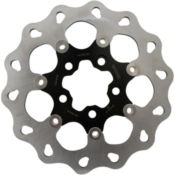 "Galfer 11.8"" Wave Rear Brake Rotor for 2008-Up Harley Sportster* - Black"
