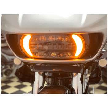Letric Sharktooth LED Headlight with Signals for 2015-2020 Harley Road Glide