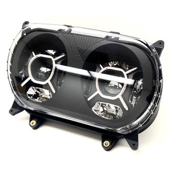 Letric Double-Barrel LED Headlight for 2015-2020 Harley Road Glide