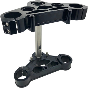 Pro-One 39mm Triple Trees for Harley - Black