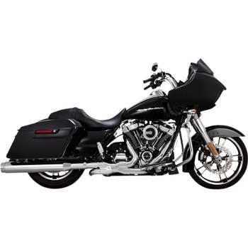 Vance & Hines Torquer 450 Slip-On Mufflers for 2017-2020 Harley Touring - Chrome