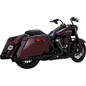 Vance & Hines Torquer 450 Slip-On Mufflers for 2017-2020 Harley Touring - Black