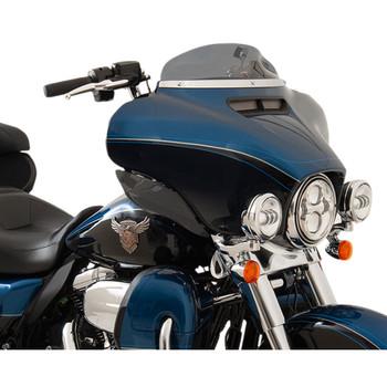 "Klock Werks 4"" Flare Windshield for 2014-2020 Harley Touring – Dark Smoke"
