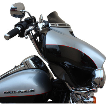 "Klock Werks 4"" Flare Windshield for 2014-2020 Harley Touring – Black"