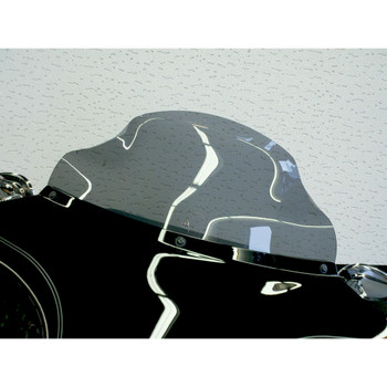 "Klock Werks 8.5"" Flare Windshield for 1996-2013 Harley Touring – Dark Smoke"