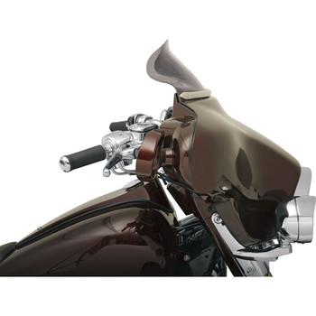 "Klock Werks 6.5"" Flare Windshield for 1996-2013 Harley Touring - Dark Smoke"