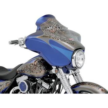 "Klock Werks 6.5"" Flare Windshield for 1996-2013 Harley Touring – Black"