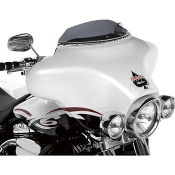 "Klock Werks 3.5"" Flare Windshield for 1996-2013 Harley Touring – Dark Smoke"