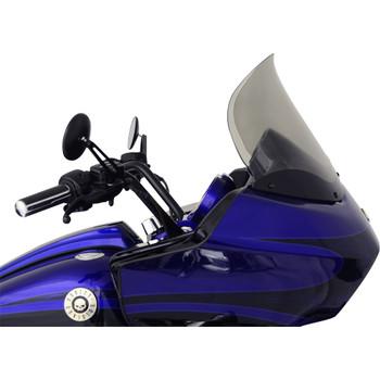 "Klock Werks 14"" Flare Windshield for 1998-2013 Harley Road Glide – Tint"
