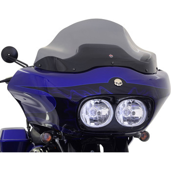 "Klock Werks 12"" Flare Windshield for 1998-2013 Harley Road Glide – Dark Smoke"