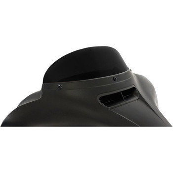 """Memphis Shades 5"""" Replacement Bagger Windshield for 2014-2020 Harley Touring – Black"""