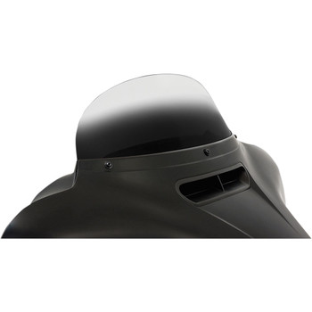 """Memphis Shades 7"""" Replacement Bagger Windshield for 2014-2020 Harley Touring – Gradient Black"""
