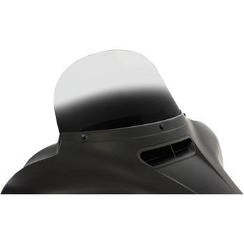 """Memphis Shades 9"""" Replacement Bagger Windshield for 2014-2020 Harley Touring – Gradient Black"""