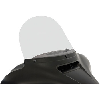 """Memphis Shades 12"""" Replacement Bagger Windshield for 2014-2020 Harley Touring – Clear"""