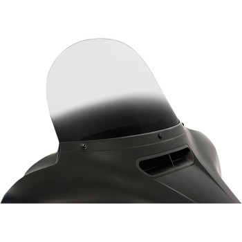"""Memphis Shades 12"""" Replacement Bagger Windshield for 2014-2020 Harley Touring – Gradient Black"""