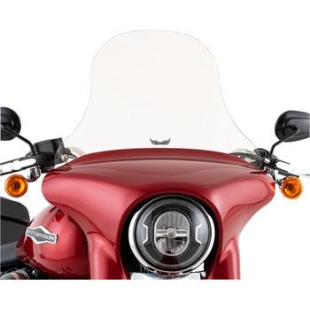 "Slipstreamer 14"" Replacement Windshield for 2018-2020 Harley Sport Glide - Smoke"