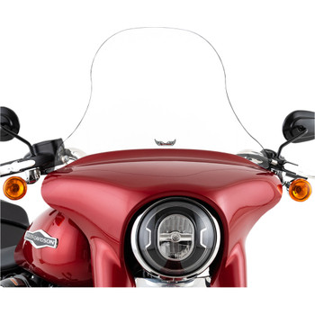 "Slipstreamer 14"" Replacement Windshield for 2018-2020 Harley Sport Glide - Clear"
