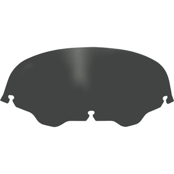 """Memphis Shades 5"""" Replacement Bagger Windshield for 1996-2013 Harley Touring – Black"""
