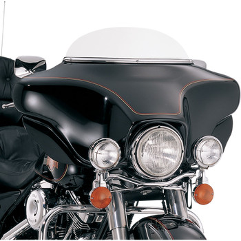 """Memphis Shades 5"""" Replacement Bagger Windshield for 1996-2013 Harley Touring – Solar"""