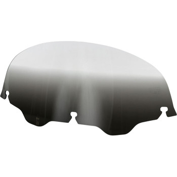 """Memphis Shades 7"""" Replacement Bagger Windshield for 1996-2013 Harley Touring – Gradient Black"""