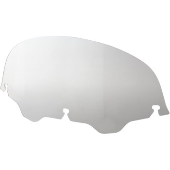 """Memphis Shades 7"""" Replacement Bagger Windshield for 1996-2013 Harley Touring – Clear"""