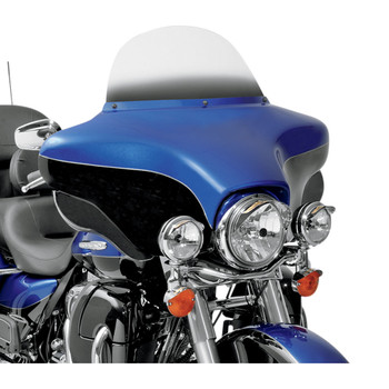 """Memphis Shades 9"""" Replacement Bagger Windshield for 1996-2013 Harley Touring – Gradient Black"""