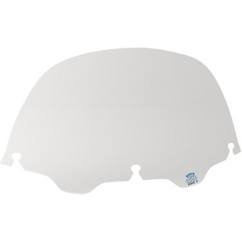 """Memphis Shades 9"""" Replacement Bagger Windshield for 1996-2013 Harley Touring – Clear"""