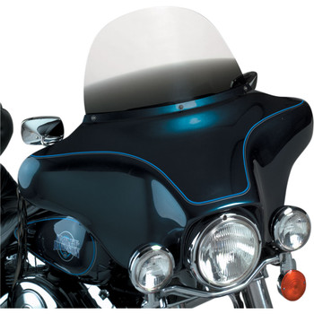 """Memphis Shades 12"""" Replacement Bagger Windshield for 1996-2013 Harley Touring – Gradient Black"""