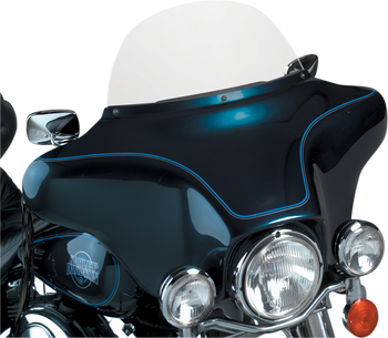 """Memphis Shades 12"""" Replacement Bagger Windshield for 1996-2013 Harley Touring - Clear"""