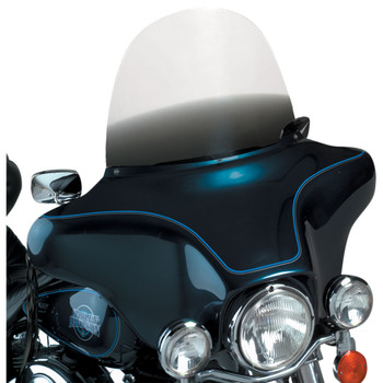 """Memphis Shades 15"""" Replacement Bagger Windshield for 1996-2013 Harley Touring – Gradient Black"""