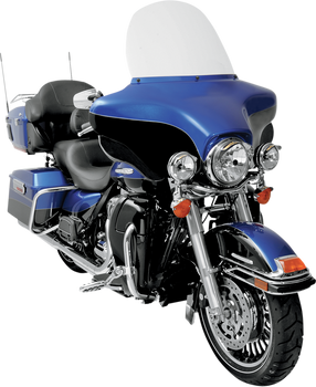"""Memphis Shades 15"""" Replacement Bagger Windshield for 1996-2013 Harley Touring – Clear"""