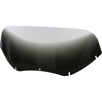 """Memphis Shades 11"""" Replacement Windshield for 2004-2013 Harley Road Glide – Gradient Black"""