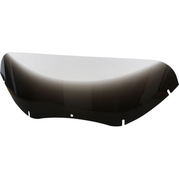 """Memphis Shades 9"""" Replacement Windshield for 2004-2013 Harley Road Glide – Gradient Black"""