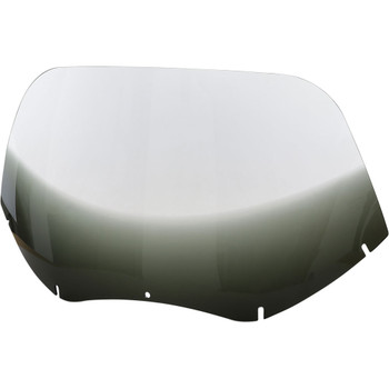 """Memphis Shades 14"""" Replacement Windshield for 2004-2013 Harley Road Glide – Gradient Black"""