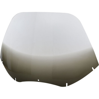 """Memphis Shades 17"""" Replacement Windshield for 2004-2013 Harley Road Glide – Gradient Black"""