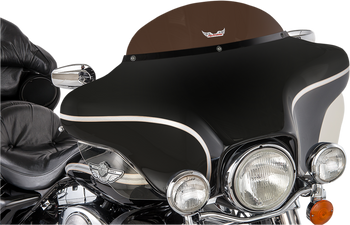 "Slip Streamer 6"" Replacement Windshield for 1996-2013 Harley Touring – Dark Smoke"