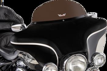 "Slip Streamer 8"" Replacement Windshield for 1996-2013 Harley Touring – Dark Smoke"