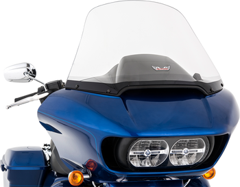 """Slip Streamer 19"""" Replacement Windshield for 2015-2020 Harley Road Glide – Clear"""